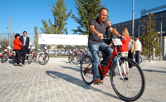 bicicleta diputacion semana de la movilidad