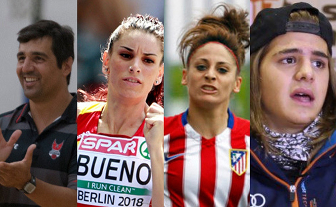 collage deportistas granadinos 3