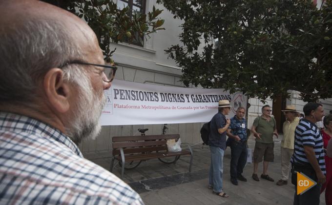 concentracion por una pensiones dignas y garantizadas