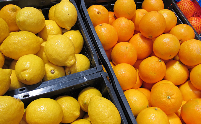 limones naranjas citricos