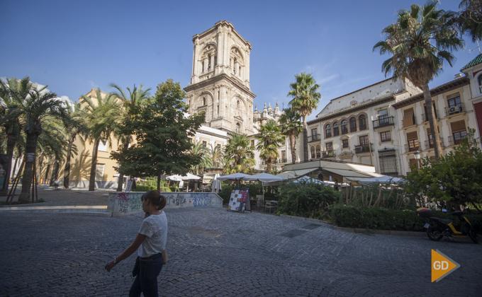 plaza de la Romanilla en Granada