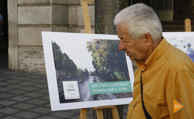 presentan el acto '25 deudas pendientes del Gobierno andaluz con Granada'