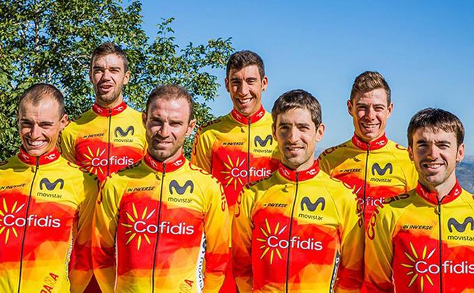 seleccion española de ciclismo