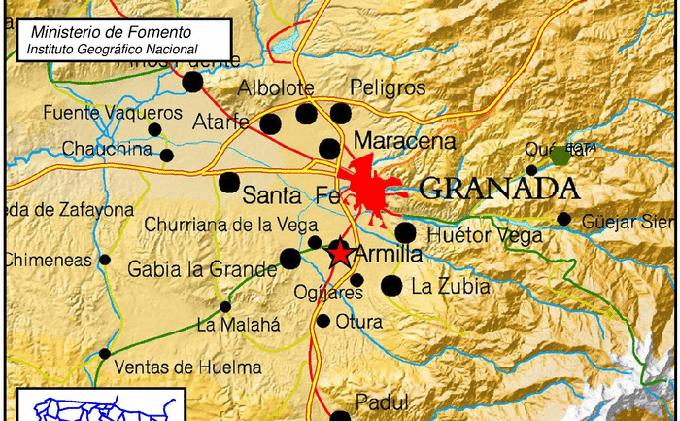 terremoto armilla