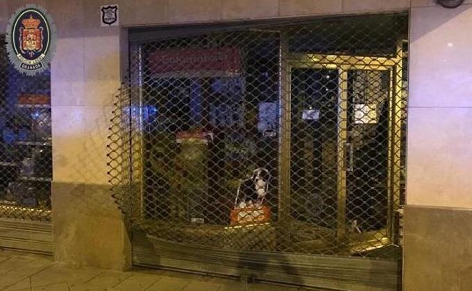 tienda de mascotas robo