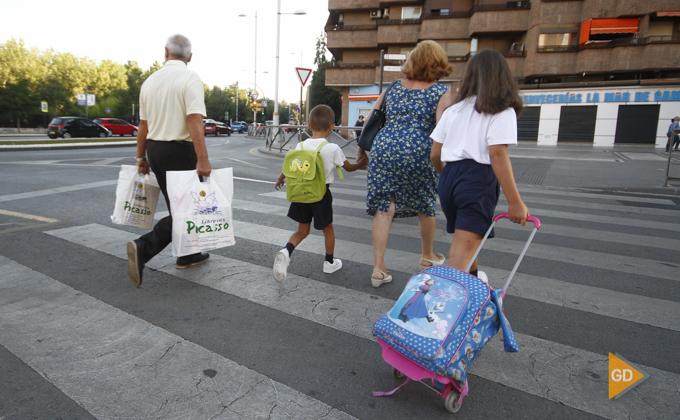 vuelta al cole en Granada