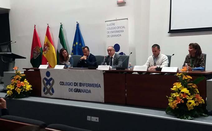 Apertura III Jornadas Colegio Enfermería Granada