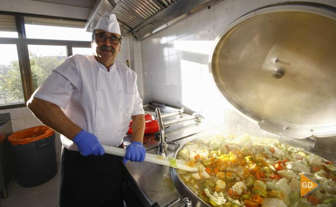 Entrevista al cocinero del Colegio Sierra Elvira
