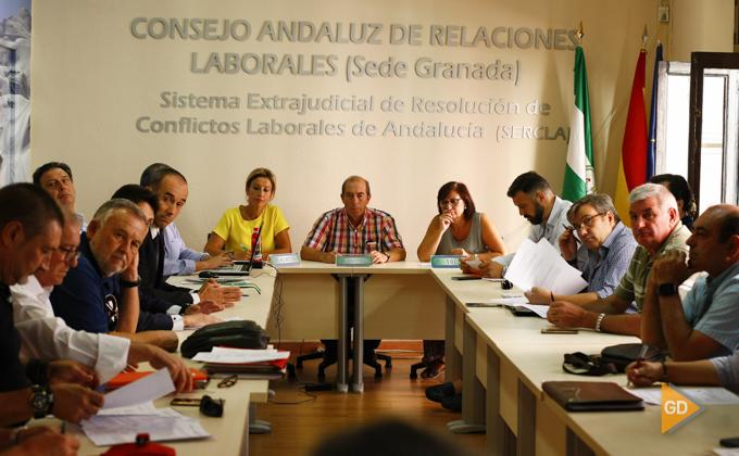 Firma del convenio colectivo de Inagra, que afecta a 560 trabajadores