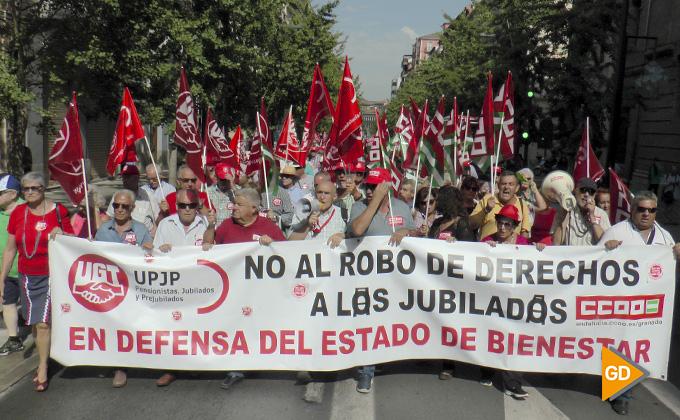Manifestación CCOO y UGT 01