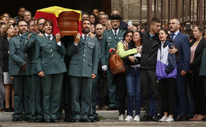 funeral guardia civil