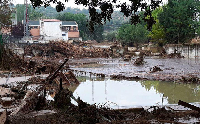 inundaciones granada 2009