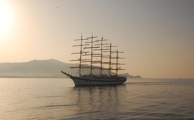 royal clipper barco velero motril