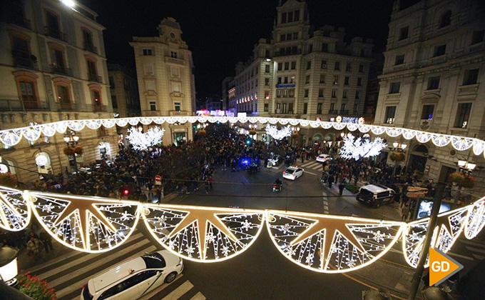 Encendido alumbrado navideño Granada 2018 01