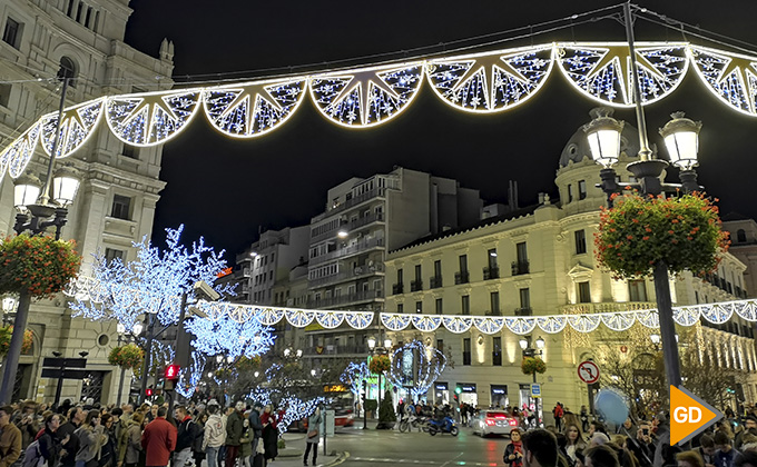 Encendido alumbrado navideño Granada 2018 02