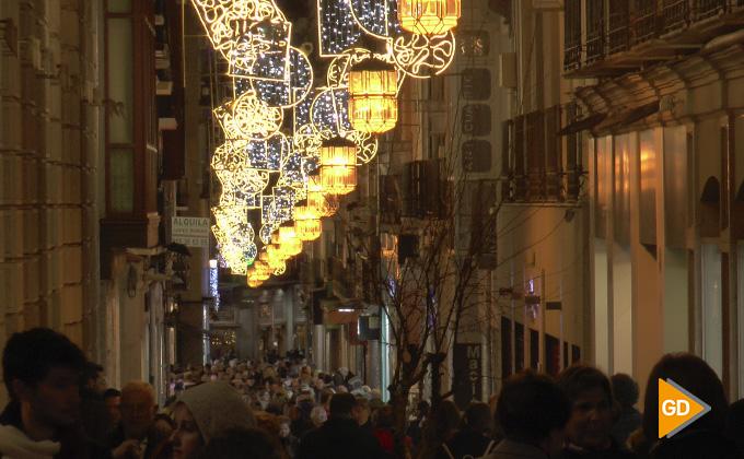 Encendido alumbrado navideño Granada 2018 05