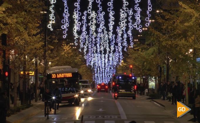 Encendido alumbrado navideño Granada 2018 06