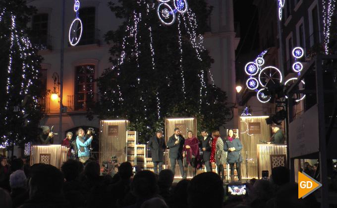 Encendido alumbrado navideño Granada 2018 08