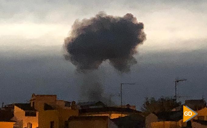 Explosion fabrica pirotecnia guadix