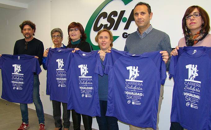 Foto organización I Carrera Solidaria Igualdad CSIF