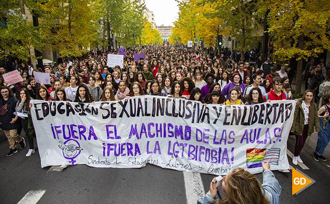 Huelga estudiantil machismo 01