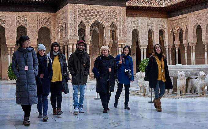 III edicion Premio CAAE_Los finalistas en el viaje a Granada 1