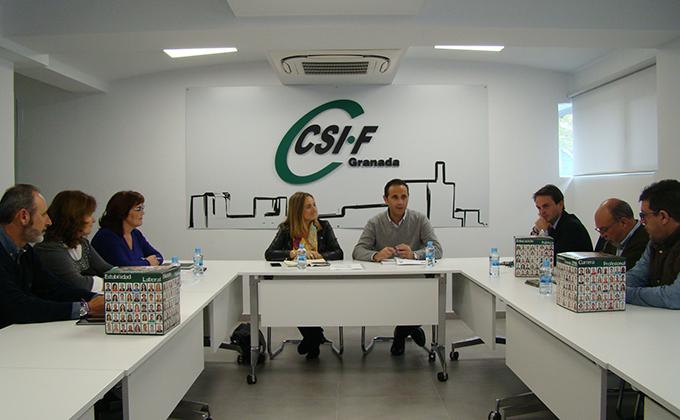 Reunión CSIF