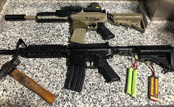 armas metralleta fusil