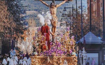 El Cristo de la Lanzada, protagonista del cartel de la Semana Santa de Granada 2019