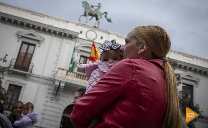 concentracion a favor de las madres en la plaza del carmen Foto Antonio L Juarez -9865