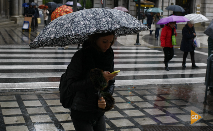 lluvia en Granada