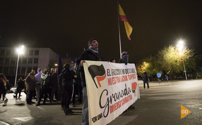 manifestación antifascista 20 noviembre