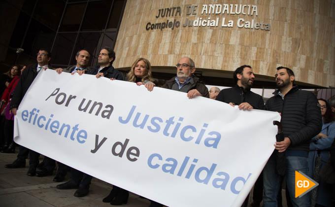protesta jueces ficales justicia caleta (2 of 6)