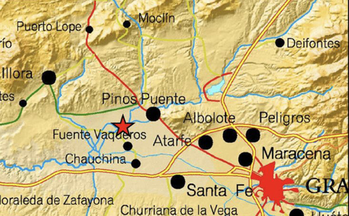 terremoto fuente vaqueros