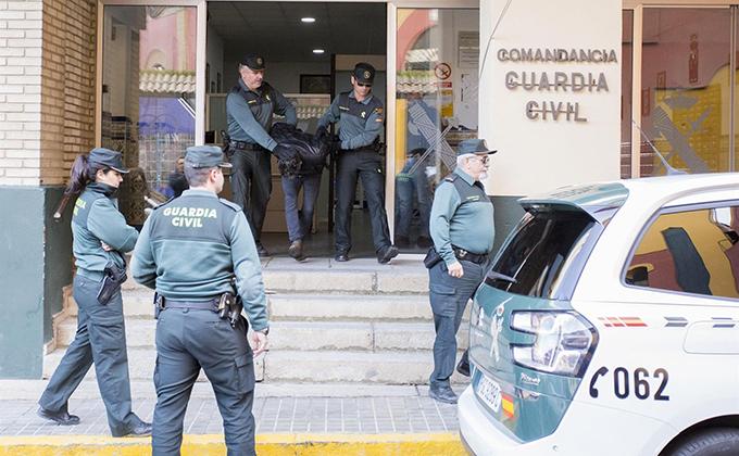 BERNARDO MONTOYA DETENCION