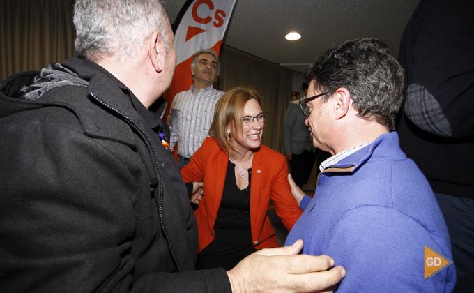 Campaña elecciones parlamento andaluz sede ciudadanos