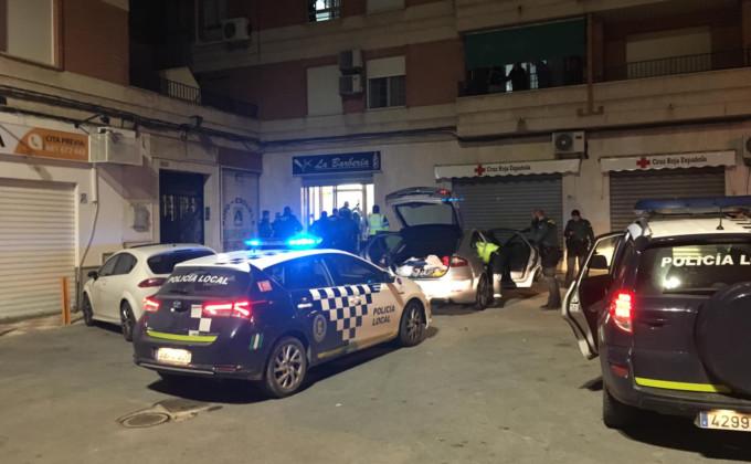 DISPOSITIVO ESPECIAL POLICIA LOCAL PINOS PUENTE