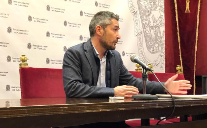 El portavoz del grupo de Cs en el Ayuntamiento de Granada Manuel Olivares