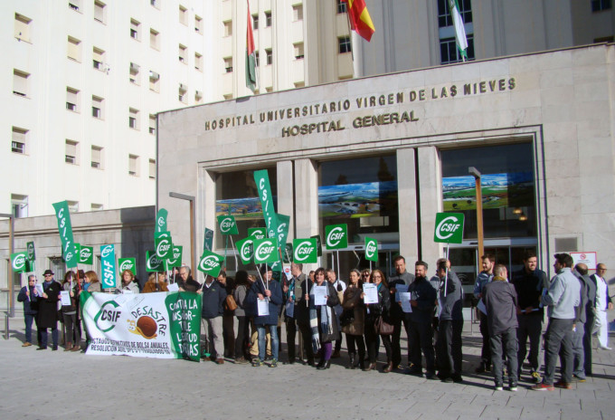 Protesta CSIF Granada Sanidad SAS 2 20181214