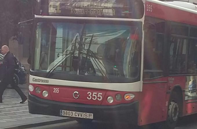 autobus Rober Reyes Católicos Línea 11 - 14,7 años