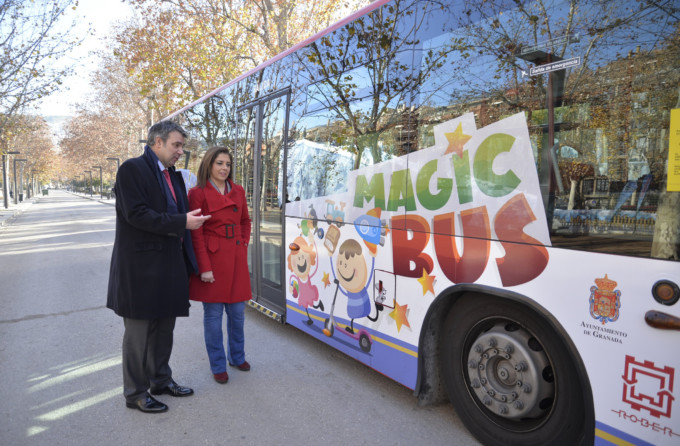 campañarecogidajuguetes Magic bus