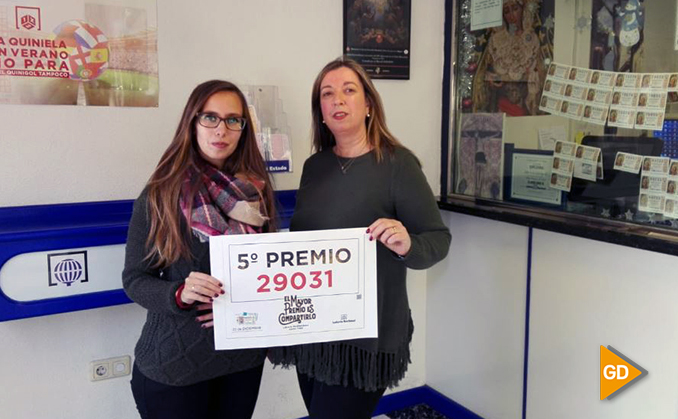 El 29.031, el cuarto quinto premio cae repartido en Granada