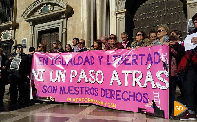 protesta feminismo vox