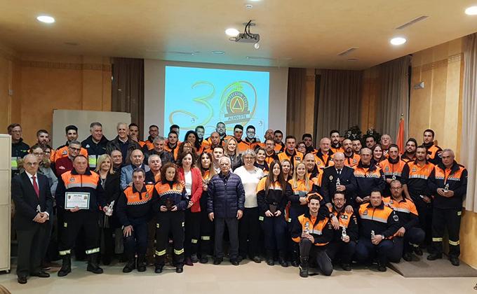 30 aniversario proteccion civil de Albolote