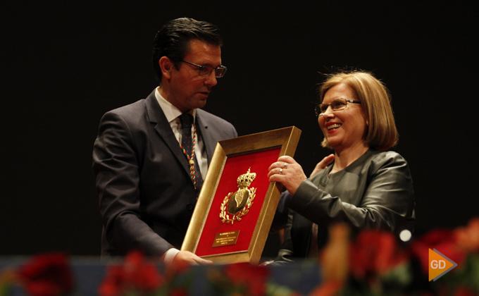 Acto de entrega de honores y distinciones de la ciudad de Granada