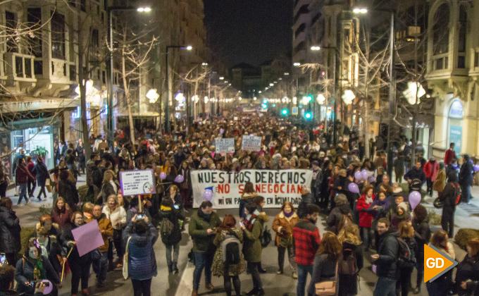 Manifestación feminista enero 2018 01
