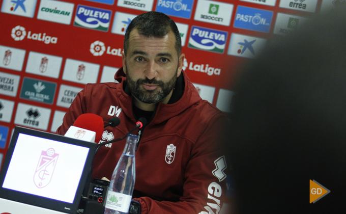 Rueda de prensa de Diego Martínez
