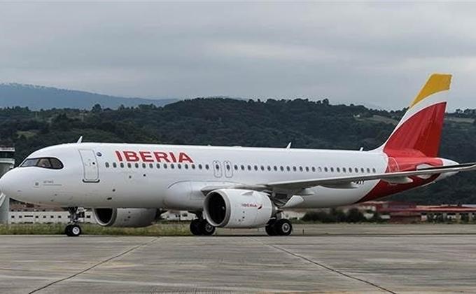 avion iberia aeropuerto