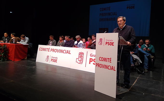 comite provincial psoe pepe entrena