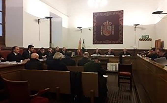 juicio en Audiencia de Granada